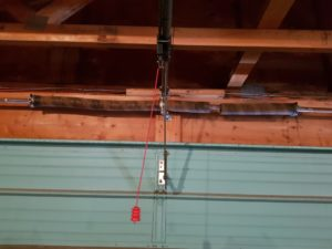 Spring or cable for a garage door repair